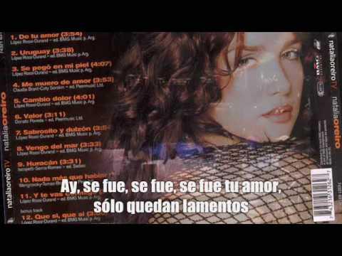 Natalia Oreiro - De tu amor  - Subtitulada
