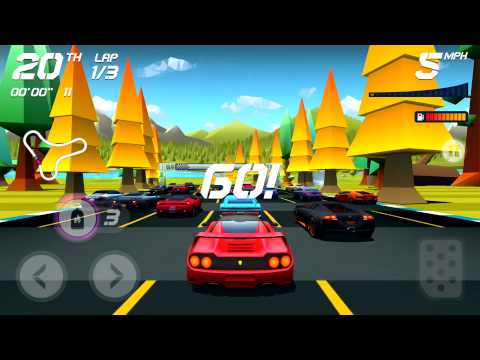 Touch Arcade's Hands-On Video With Horizon Chase