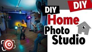 Home Photography Studio Setup - Tips For Building A DIY Home Portrait Studio On A Budget