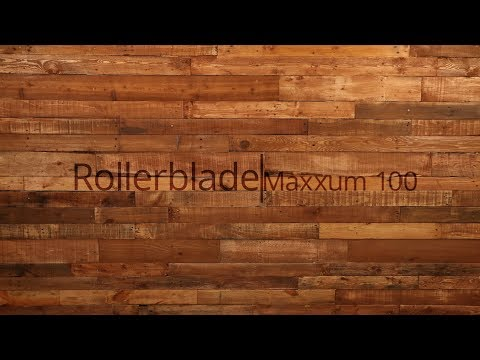 Video: 2018 Rollerblade Maxxum 100 Inline Skate Overview by InlineSkatesDotCom