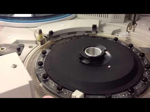 Demonstration of Roche Cobas p 501 SRM (Storage-Retrival