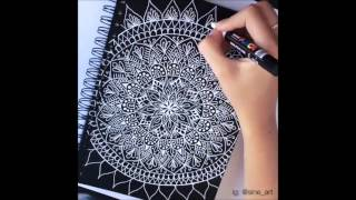 AMAZING MANDALA VIDEO COMPILATION (Beautiful & Relaxing) #2