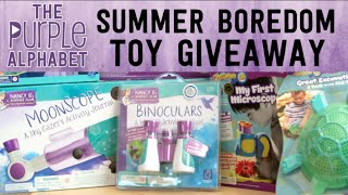 Summer Boredom Busters for Kids feat. Educational Insights