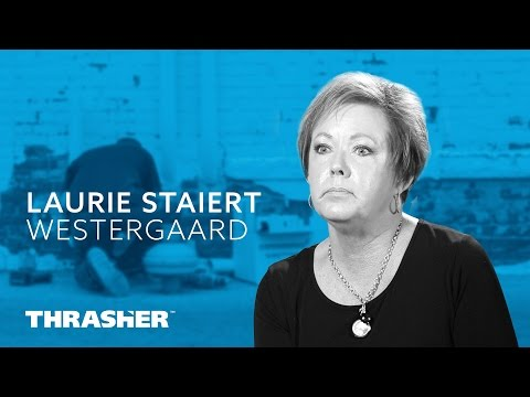 Mrs. Laurie Staiert Westergaard, a Thrasher radon mitigation customer and lung cancer awareness advocate, was kind enough to sit down with us for a few minutes and share her story.