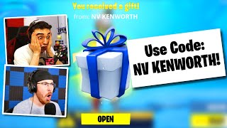 Gifting Fortnite Skins To YouTubers!  (Fortnite: Battle Royale)