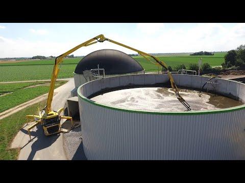 Mobiler Güllemixer für Biogasanlagen | Hölzl GmbH