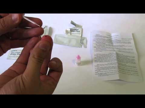 Анализ крови на ВИЧ, СПИД дома. Профитест