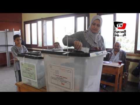 هدوء في لجنة مدرسة جلال فهمي في شبرا مصر