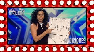 Lolita goes on stage alone but leaves singing a duet | Auditions 6 | Spain's Got Talent 2018