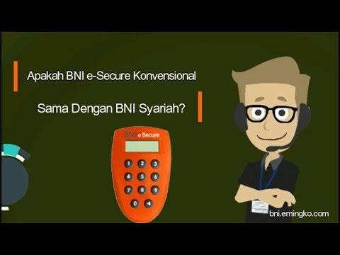 Apakah BNI e-Secure Konvensional Sama Dengan BNI Syariah?