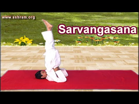 Video Sarvangasana and it`s Benefits   Yoga Asanas   International Yoga Day Special 2016 , 21st June