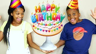Shiloh And Shashas BIRTHDAY PARTY! - Onyx Kids
