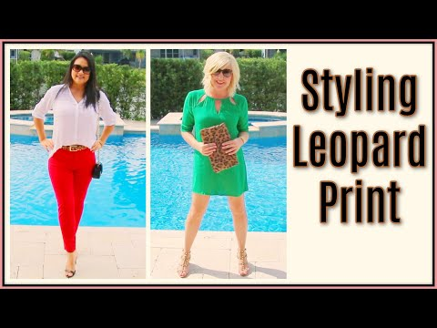 Download Fall Fashion Trends for Women over 40 | How to Style Leopard Print Lookbook HD Mp4 3GP Video and MP3