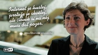 Lenka Eckertová, spisovatelka - Internet je hustej.