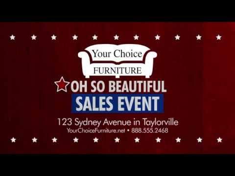 Oh So Beautiful Sales Event - TV