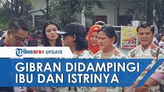 Iriana Jokowi dan Selvi Ananda Antar Gibran ke Semarang Daftar Jadi Calon Wali Kota Solo