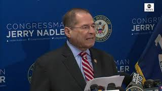 Mueller remarks: Rep. Nadler (D-NY) speaks following special council's statement