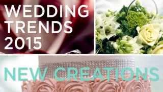 2015-2016 Wedding Trends By New Creations Wedding Design & Coordination Associate Planner- Erika