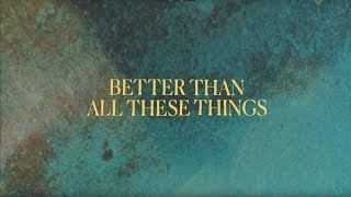 Pat Barrett - Better (Official Lyric Video)