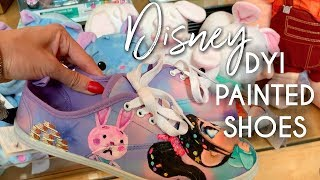 Disney DIY Painted Shoes | Wreck It Ralph 2 Inspired Art