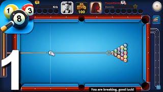 8 Ball Pool - Gameplay Walkthrough Part 1 (Android,iOS)