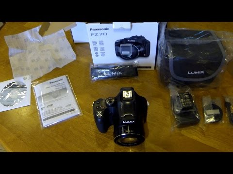Panasonic Lumix DMC-FZ70 Unboxing+Test Photos/Videos