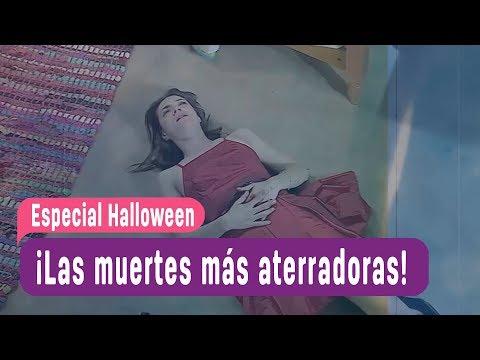 Las muertes más aterradoras de las teleseries de MEGA - Especial Halloween 2018 (видео)
