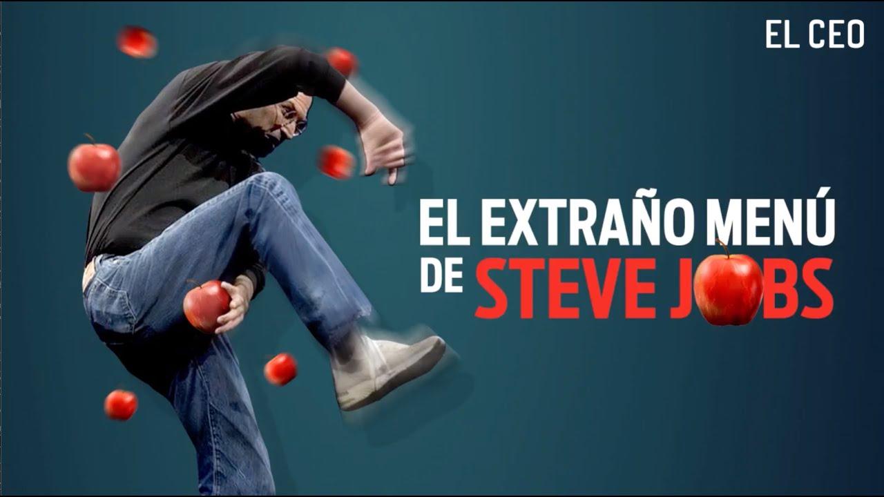El extraño menú de Steve Jobs