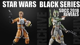 SDCC 2018 Star Wars Black Series Archive, Hasbro Reveal and Announcement!