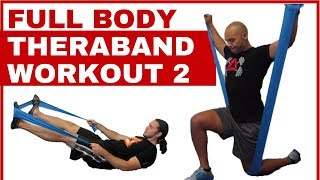 Full body Theraband workout 2 by Joy of Movement Fitness Solutions