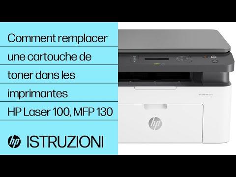 Comment remplacer une cartouche de toner dans les imprimantes de la gamme HP Laser 100 et multifonction 130