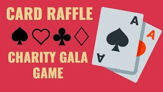 Fundraising Idea: Deck Of Cards Raffle
