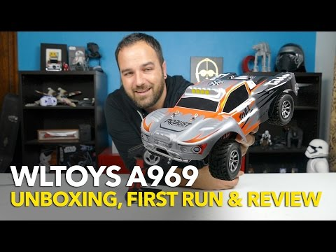 WLTOYS A969 Vortex 1/18th Scale RC 4WD Shortcourse Truck UNBOXING, FIRST RUN & REVIEW