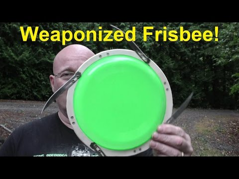 This Weaponised Frisbee Is Straight Out Of A James Bond Film