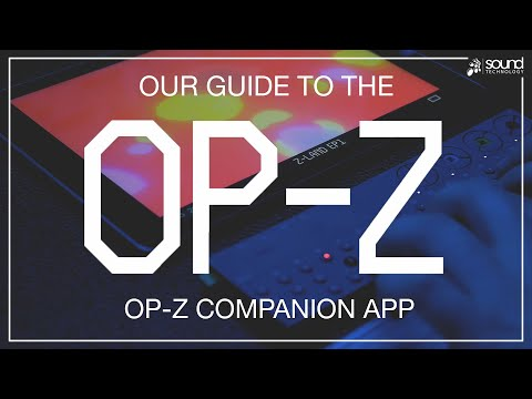 Teenage Engineering OP-Z App | OP-Z Screen, Photomatic & Motion