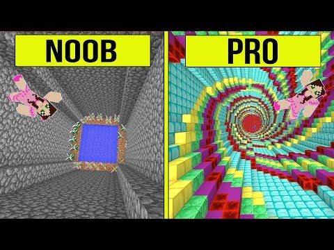 , title : 'Minecraft: NOOB VS PRO!! - THE DROPPER! - Modded Challenge'
