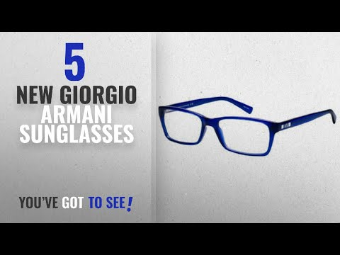 Top 10 Giorgio Armani Sunglasses [ Winter 2018 ]: Armani Exchange AX3007 Eyeglass Frames 8018-53 –