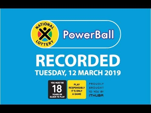 PowerBall Live Draw - 12 March 2019
