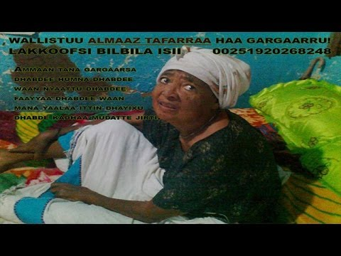 Almaz Tefera - Caaltuu qaamni kee furfuuree (Oromo Music) - Youtube