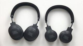 GUTE & GÜNSTIGE On-/Over Ear Kopfhörer! JBL E45BT/ E55BT