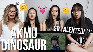 MV REACTION | AKMU   'DINOSAUR' MV