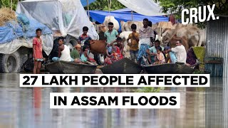 Assam And Bihar Reel From Floods As India Receives 6% More Than Normal Rainfall - Download this Video in MP3, M4A, WEBM, MP4, 3GP
