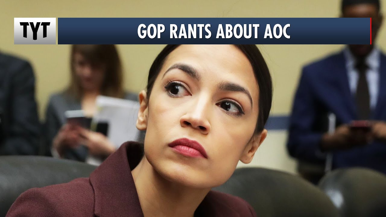 Republican Rep Attacks AOC On Capitol Steps thumbnail