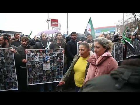 Διαμαρτυρία για τη Συρία στην Κωνσταντινούπολη