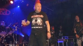 THE EXPLOITED - Cop cars - Punk & Disorderly 2015- Astra - Berlin 18.04.2015