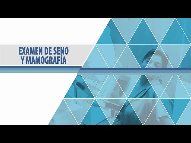 Examen de Seno y Mamografía - Hospital San Rafael de Fusagasugá
