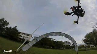Evening Race - FPV Drone Racing
