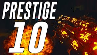 Black Ops 3 Zombies PRESTIGE 10! All Stats, High Rounds and Rank Up Fast Tips