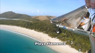 Flying to Culebra in the Rans S-12