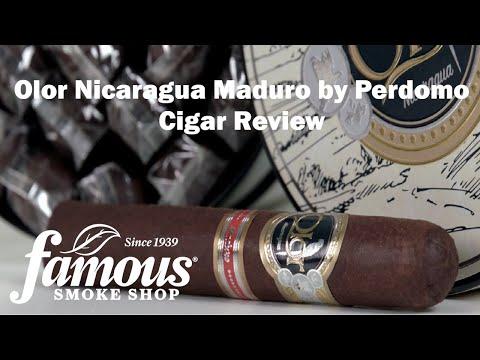 Olor Nicaragua Maduro By Perdomo video